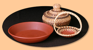 Basket and Pie Plate Ensamble